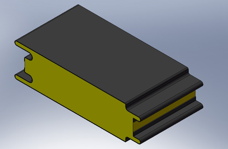 S型插口式外墙板